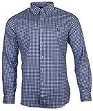 Ralph Lauren Slim Fit Camisa – Rojo/Blanco/Azul azul oscuro a cuadros. S