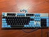 M5RU Keycap 1 Set Pulse SA ABS Keycap for Mechanical Keyboard (Color : 104 Keys)