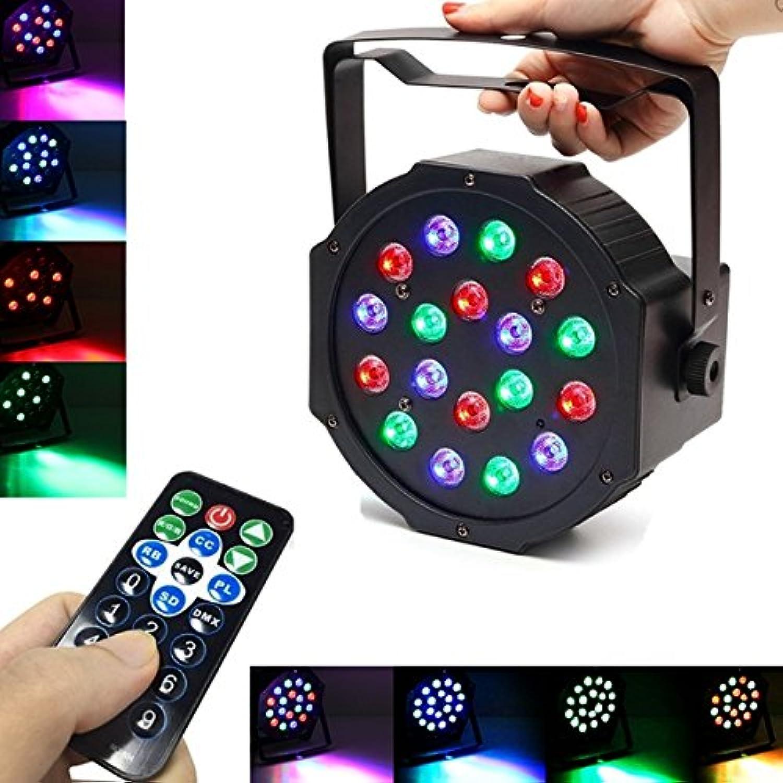 JINHUGU 18W LED RGB Stadium DMX Effekt Gleichheit Stroboskop-Licht für Weihnachtsclub-Hochzeitsfest KTV EU Plug B07MKL1TX6 | ein guter Ruf in der Welt