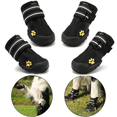 RoyalCare Zapatos para Perros, Botas De Nieve Resistentes Al Agua Y Calientes. Protector De...