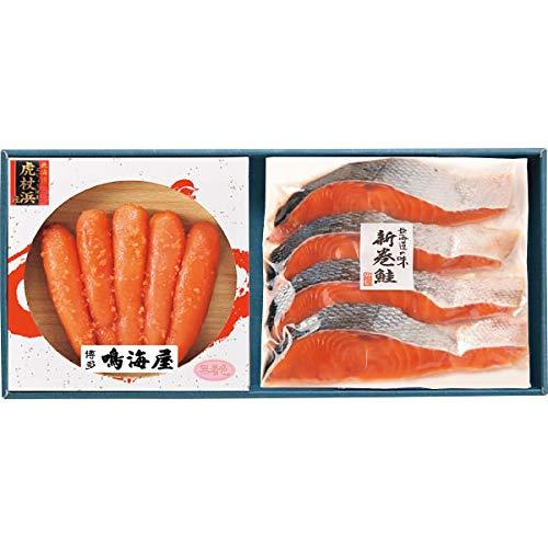 辛子明太子(虎杖浜産たらこ使用)&北海道秋鮭セット お歳暮 好適品 2020年人気 ランキング