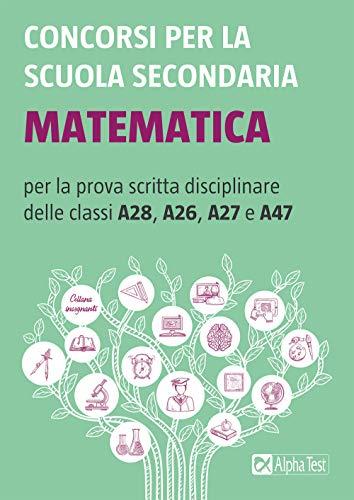 Concorsi per la scuola secondaria: Matematica
