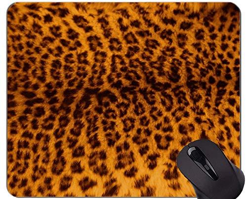 Yanteng Cojín de ratón Original de Encargo de la Serie del Leopardo, Cojines de ratón del Leopardo de la Familia del Gato del Leopardo