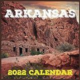 Arkansas Calendar 2022: Daily, Weekly and Monthly Planner | Arkansas 2021-2022 Planner | Arkansas Calendar and Organizer | small calendar
