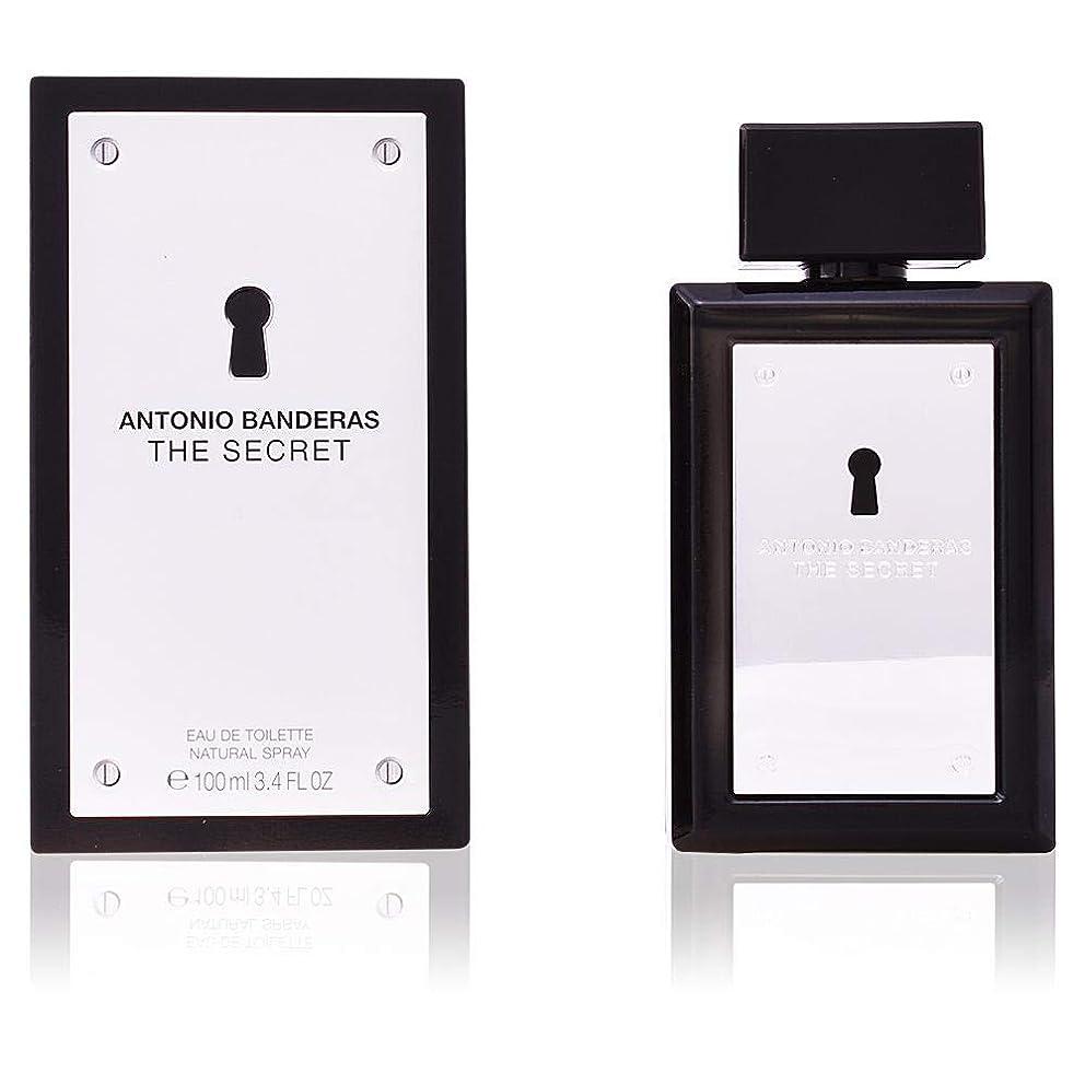 血まみれのポット晴れThe Secret by Antonio Banderas Eau De Toilette Spray 3.4 oz / 100 ml (Men)