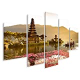Bild Bilder auf Leinwand Pura Ulun Danu-Tempel an einem See