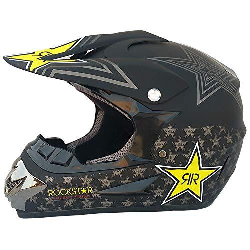 Motorrad Kreuz Helme Set Mit Brille/Maske/Handschuhe Motocross Helm Motocross...