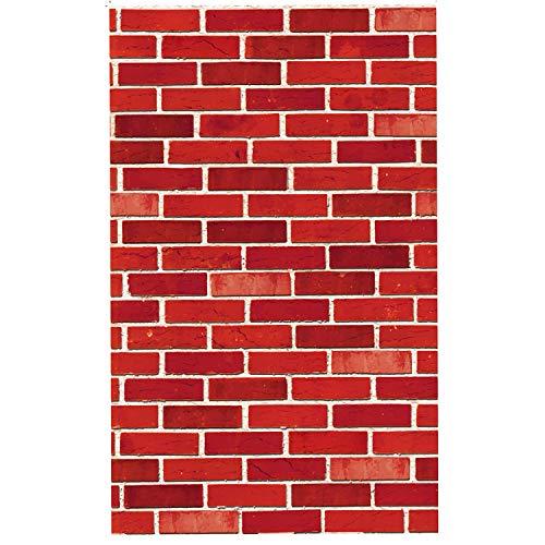 JOYIN Brick Wall Backdrop 4FT by 30FT Party Accessory Halloween Wall Decorations