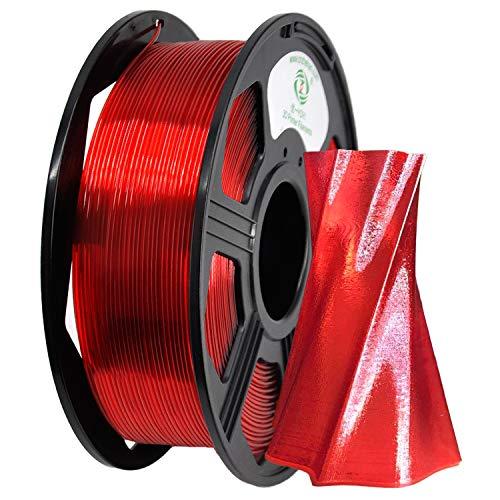YOYI YOYI PETG Filament 1.75mm for 3D Printer Filament Red,1kg Spool(2.2lbs), Dimensional Accuracy +/- 0.03 mm,100% Europe Raw Material…