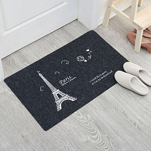 TCM-KE Divertido felpudo de cocina, alfombra de entrada interior, alfombra antideslizante, lavable, para sala de estar, dormitorio, sala de juegos