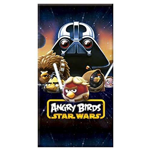 Toalla de playa de terciopelo Star Wars Angry Birds toalla Imprimee 70x 140cm