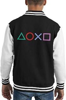 Cloud City 7 Playstation Shapes Kid's Varsity Jacket