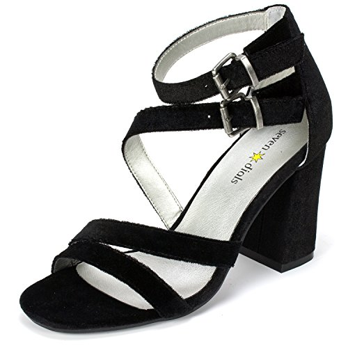 Seven Dials Femmes Couleur Noir Black Taille 39.5 EU / 8.5 Us