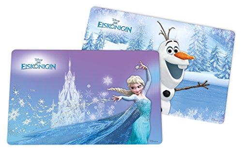 Disney Frozen, 2 Stück Platzset, Kunststoff, Mehrfarbig, 29 x 43 x 0.2 cm