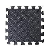 Schutzmatten Set Puzzlematte Bodenschutz Matte - 12 Puzzle Bodenschutzmatten Unterlegmatte |...