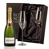 Bollinger Brut Champagner mit Swarovski Crystal Flutes