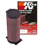 K&N Engine Air Filter: High Performance, Premium, Powersport Air Filter: 2002-2013 YAMAHA (YFM350R Raptor, YFM660 Grizzly Auto 4x4, YFM660 Grizzly) YA-6602