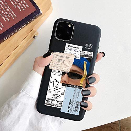HNZZ Tmrtcgy para iPhone 11 Case Mona Lisa Art David Soft TPU Funda para teléfono para Apple iPhone 12 7 8 Plus XR XS 11PRO MAX Case (Color : 15, Size : Iphone7Plus 8Plus)