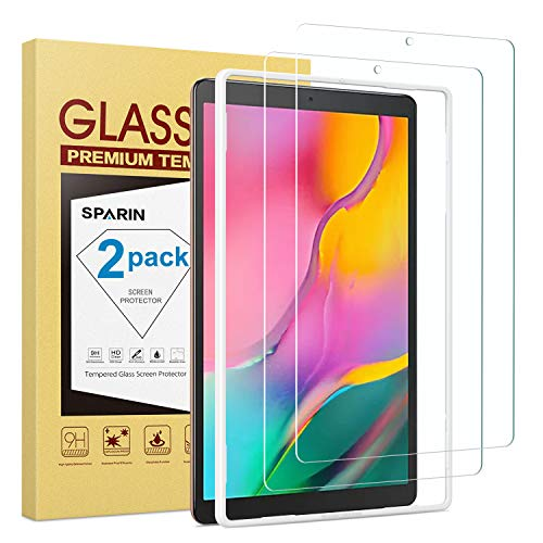 Purchase SPARIN [2-Pack] Screen Protector for Galaxy Tab A 10.1 2019, 9H Hardness Tempered Glass for...