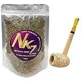 Missouri Meerschaum Pipe & NicoNone Herbal Smoking Blend 1oz Refill Bag (Motivate Twist)