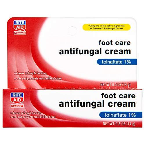 Rite Aid Athlete's Foot Cream, Tolnaftate - 0.5 oz | Antifungal Cream