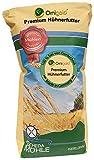 Ornigold Hühnerfutter 25 kg mit Weizen, Bruchmais, Gerste, Hafer und Muschelkalk