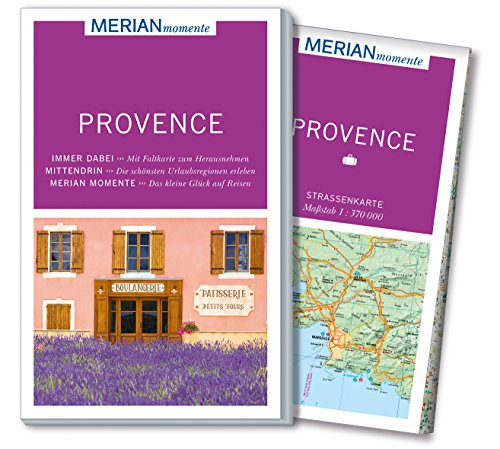 MERIAN momente Reiseführer Provence: Mit Extra-Karte zum Herausnehmen