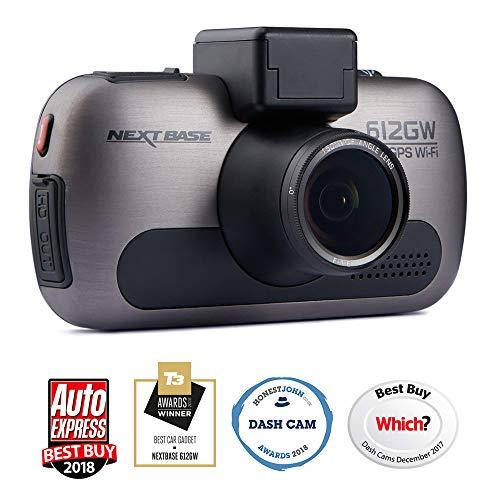 Dash Cam Nextbase 122 Car Dash Camera Black Full 720p 30fps HD Recording DVR Cam Click/&Go PRO Powered Mount 120/° Wide Viewing Angle