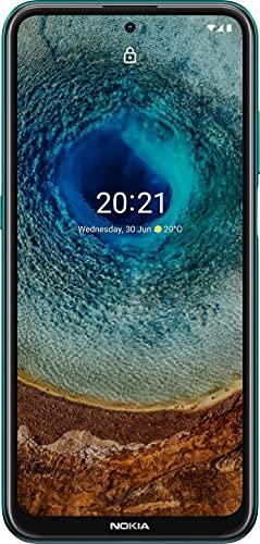 Nokia X10 - Smartphone de 6.67 Pulgadas (WiFi 802.11 b/g/n/AC, BT 5.0, Qualcomm Snapdragon 480 5G, 128GB Google Drive, 4GB, Android 11, Cámara 48MP/8MP, Cable USB-C OTG, Hybrid...