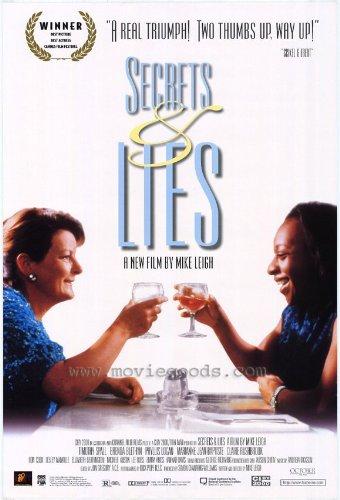 Póster de la película Secrets & Lies (27 x 40 pulgadas – 69 cm x 102 cm) (1996) estilo B (Brenda Blethyn) (Marianne Jean-Baptiste) (Timothy Spall) (Claire Rushbrook) (Phyllis Logan) (Lee Ross)