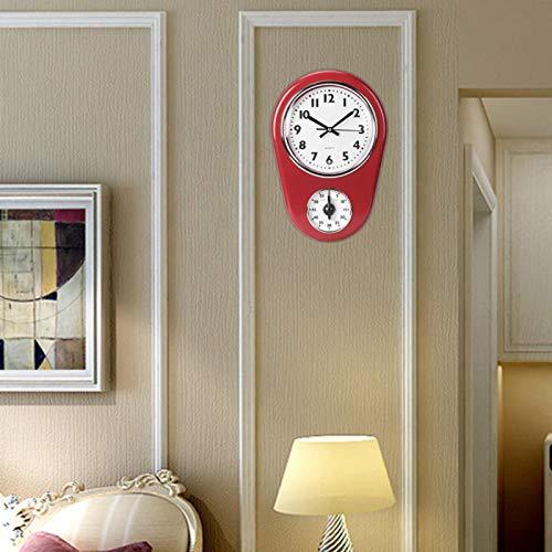 Kadimendium Reloj de Pared Temporizador de Cocina Temporizador para Cocina
