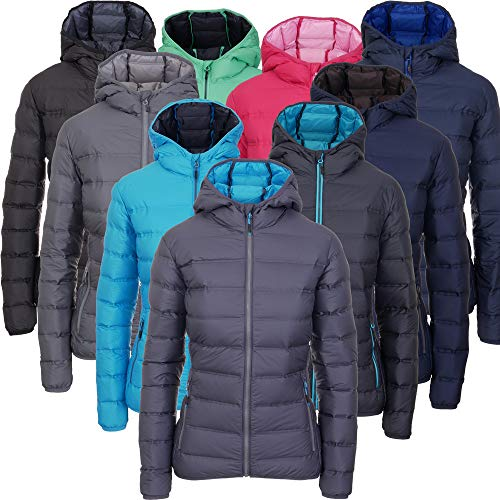 CMP Piuma II - Chaqueta de plumas para mujer   cálida con capucha   aislante y transpirable   con bolsa plegable   en muchos colores