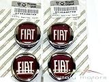 Original Fiat Punto/EVO cerchioni coperchio coprimozzo. Copricerchi–Set da 4pezzi–735448759