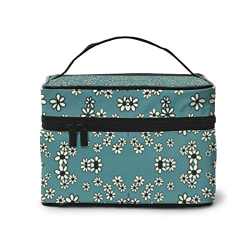 Borse per cosmetici Daisy, Daisy, Gimmie Your Answer Do Fabric 5043(4569) Pattern Portable Travel Makeup Cosmetic Bags Organizer Makeup Boxes for Women Travel Daily Carry