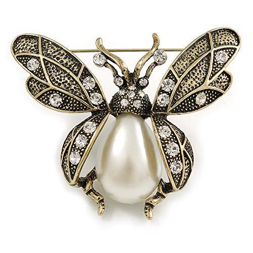 Avalaya Vintage Inspired Crystal, S…