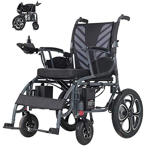 Elektrorollstuhl Kompakter Mobiler Rollstuhl Für Ältere Disability Folding Tragbarer Elektrorollstuhl Dual Motor Lithiumbatterie Intelligente Elektronische Bremse