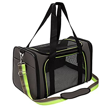 Soft-Sided Pet Travel Carrier Airline Approved Dog Cat Carrier for Medium Puppy and Cats