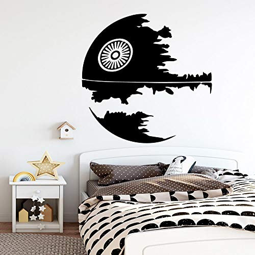 LSMYM Creative Our Family Text Vinyl Wall Decals Living Room Decorative Wall Sticker Bedroom Wallsticker Decal White XL 57cm X 57cm