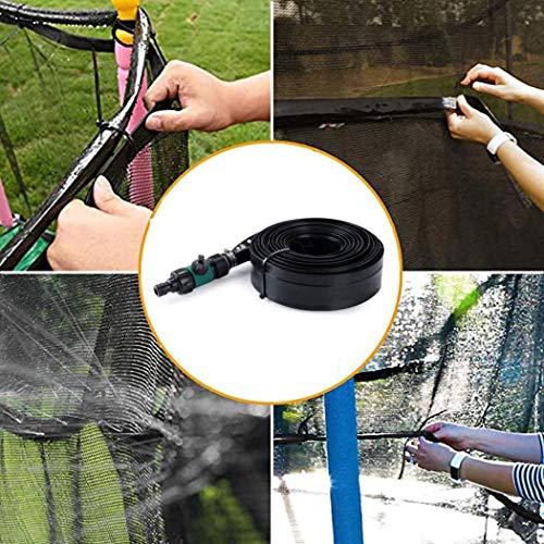 ZEARO Trampoline Sprinkler Hose Summer Outdoor Water Play Toys Kids Lawn Children Play Trampoline Accessories