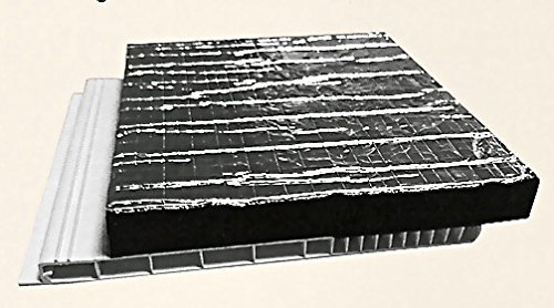 Rolladenkastendeckel wärmegedämmt (160 mm Tiefe/1800 mm Länge)