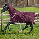 Horseware Amigo Héros Ripstop Plus Tapis De Participation Lite 125cm Fig/Navy & Tan