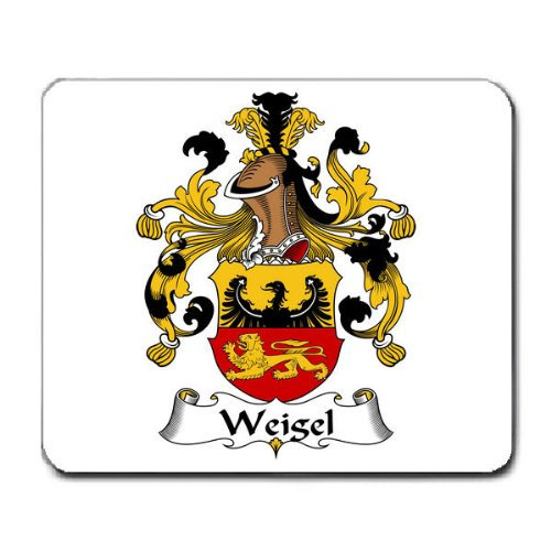Weigel Family Crest Coat of Arms Mouse Pad