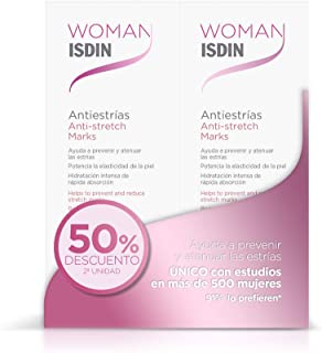 ISDIN Antiestrías Duplo Crema Para Prevenir Y Atenuar Las Estrías - 2 X 250Ml 0.5 500 ml