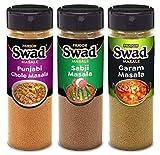 Garam Masala Subji Masala Punjabi Chana Chole Masala Powder 300g, 100% Pure Spices, No Preservatives, Combo of 3 x100 g Packs