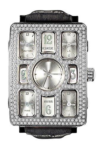 [アイステック] 腕時計 5TZ1-C4 Quintempo 1 Silver 正規輸入品