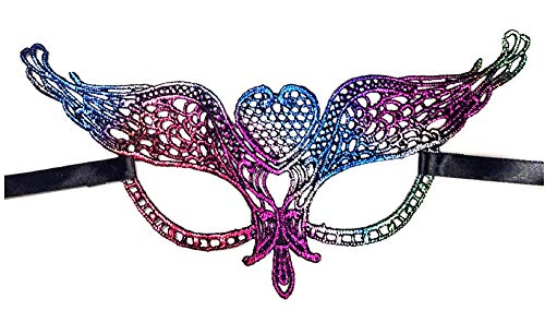 KIRALOVE Máscara Veneciana - Multicolor - macramé - Halloween - Carnaval - Idea de Regalo Original - Hombre - unisexmod.6