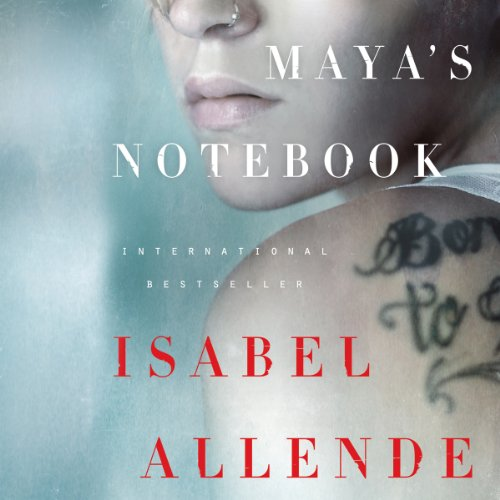 Maya's Notebook audiobook cover art