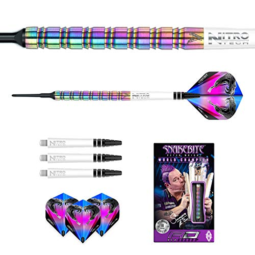 Red Dragon Peter Wright Snakebite 1 Softdarts - 5