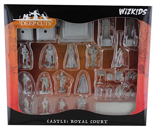 Wizkids Deepcuts Unpainted Miniatures: Towns People: Castle I