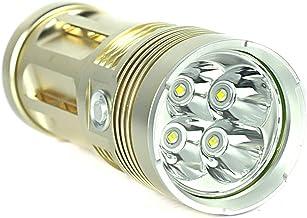 Elytron Cree-LED handlamp Profi42 incl. batterijen, goud